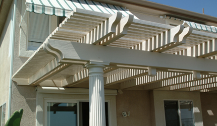 Pergola And Lattice Shade Covers